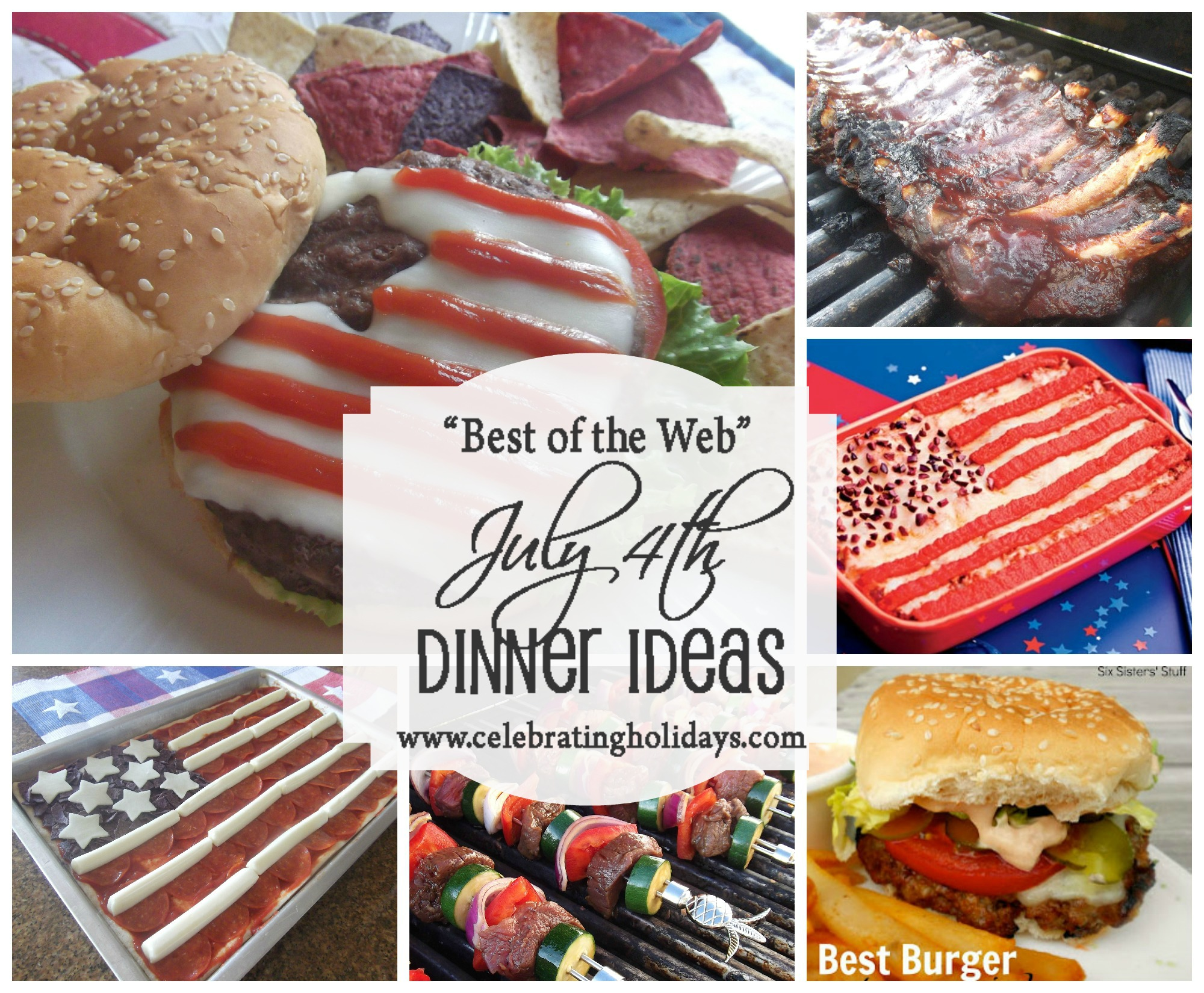 Best of the Web July 4th Main Dish Ideas