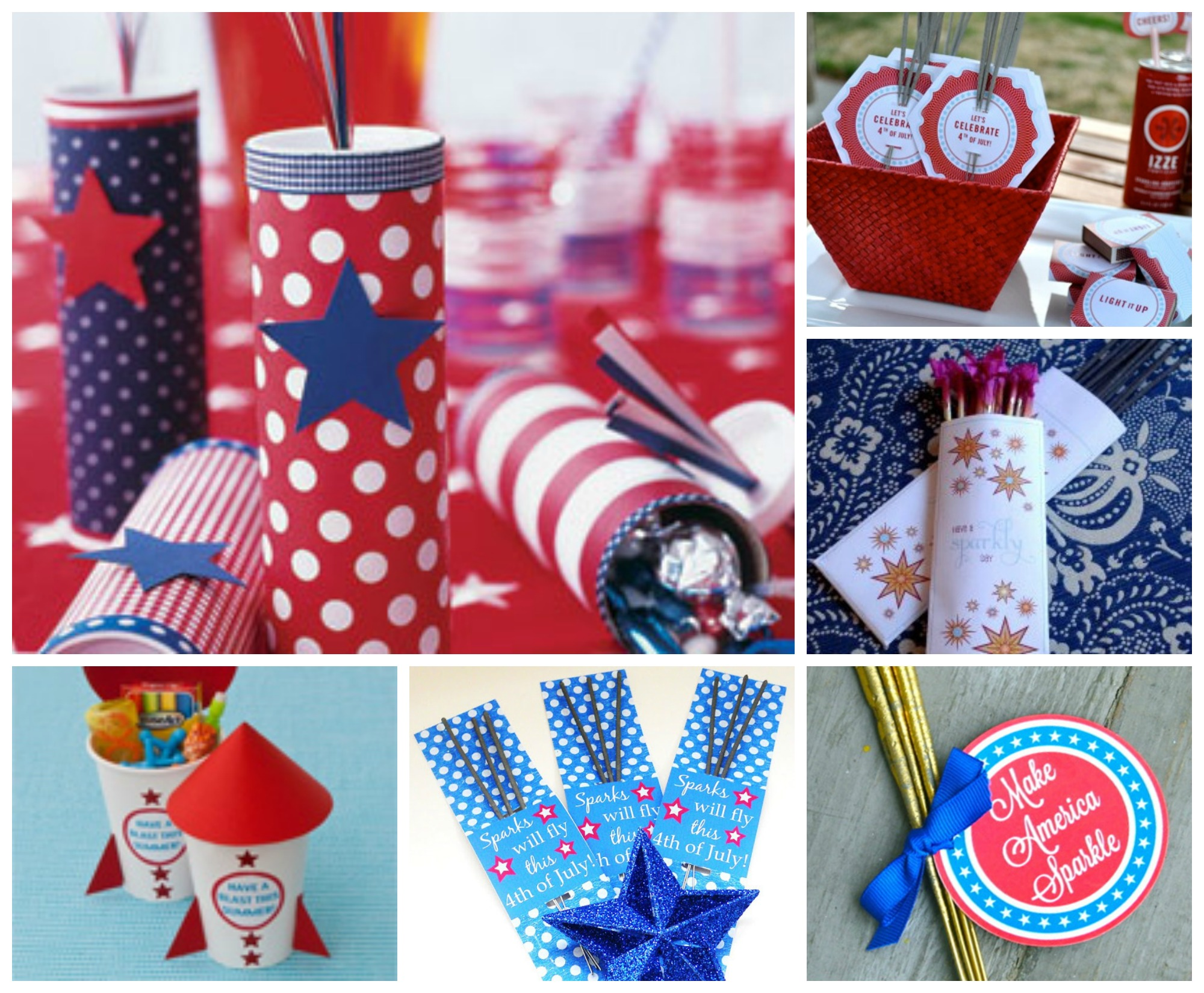 July 4th Fun Knick-Knack Gifts