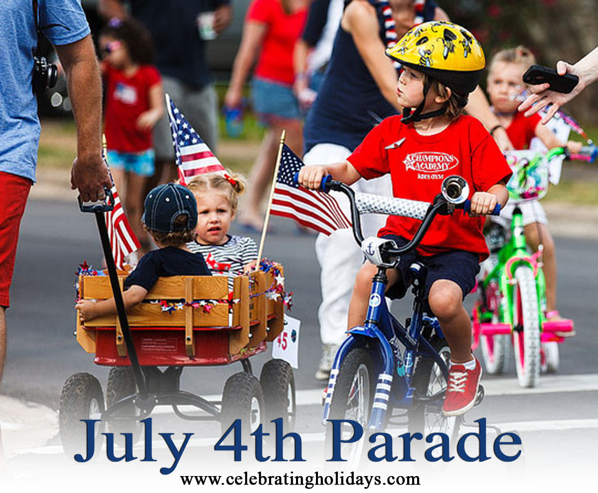 July 4th Bike, Scooter, and Wagon Parade Tradition