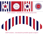 July 4th Free Printable Gift Tags 8