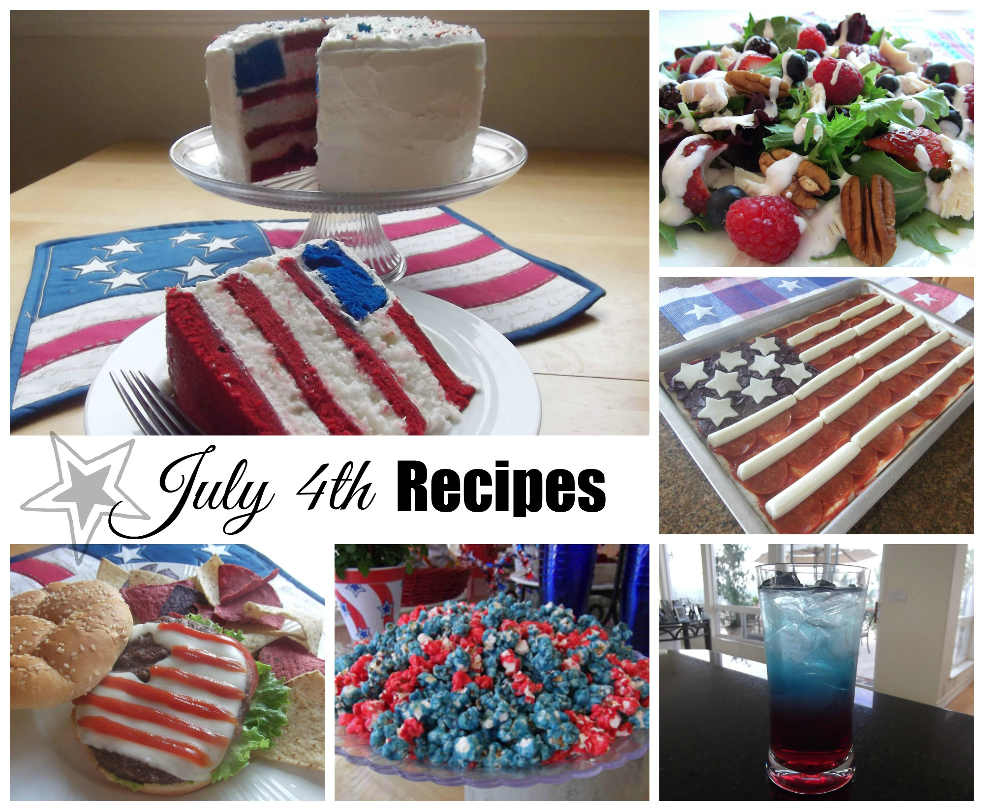 Patriotic Recipes for July 4th