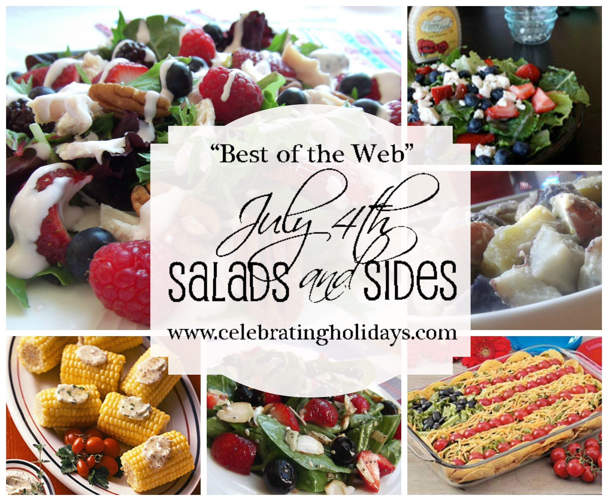 Best of the Web July 4th Salad and Side Dish Ideas