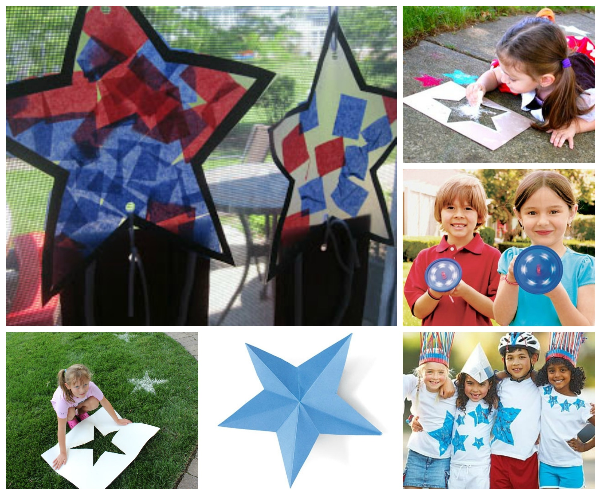 Star Crafts for July 4th
