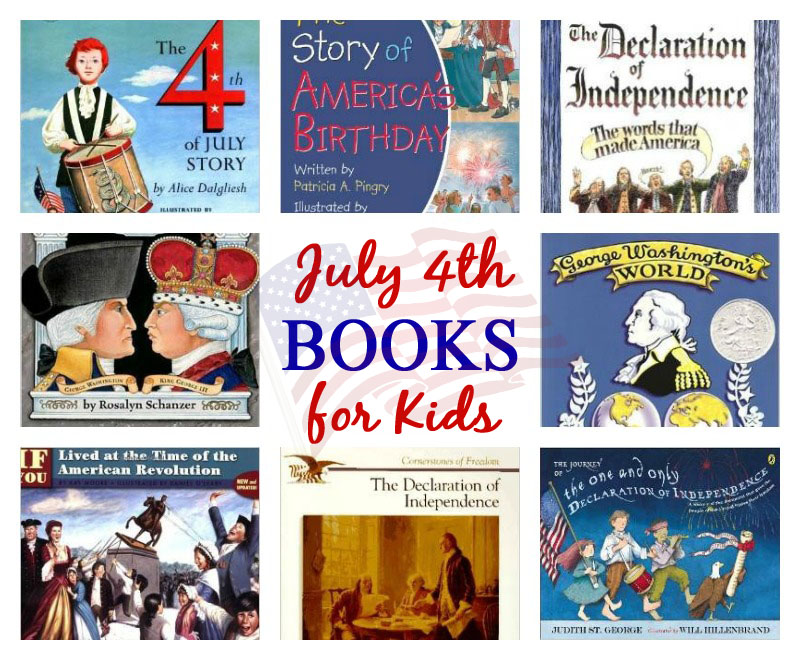 July 4th Books for Kids