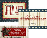 July 4th Free Printable Gift Tags 3