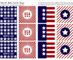 July 4th Free Printable Gift Tags 6