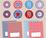 July 4th Free Printable Gift Tags 7