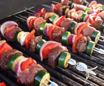 Kabobs for July 4th BBQ