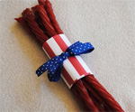 Patriotic Licorice Favor