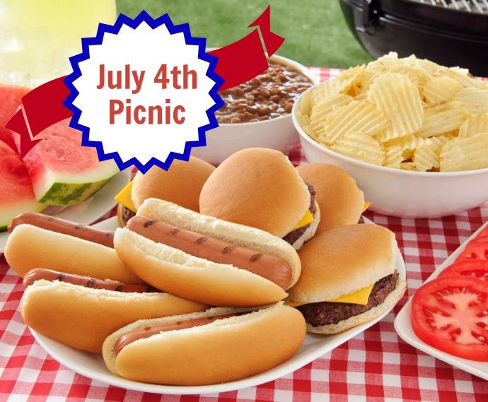 July 4th Picnic and Barbecue Tradition