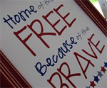 Home of the Free Patriotic Printable
