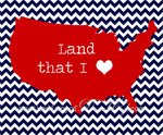 Land I Love Free Printable Art