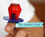 Patriotic Ring Pop