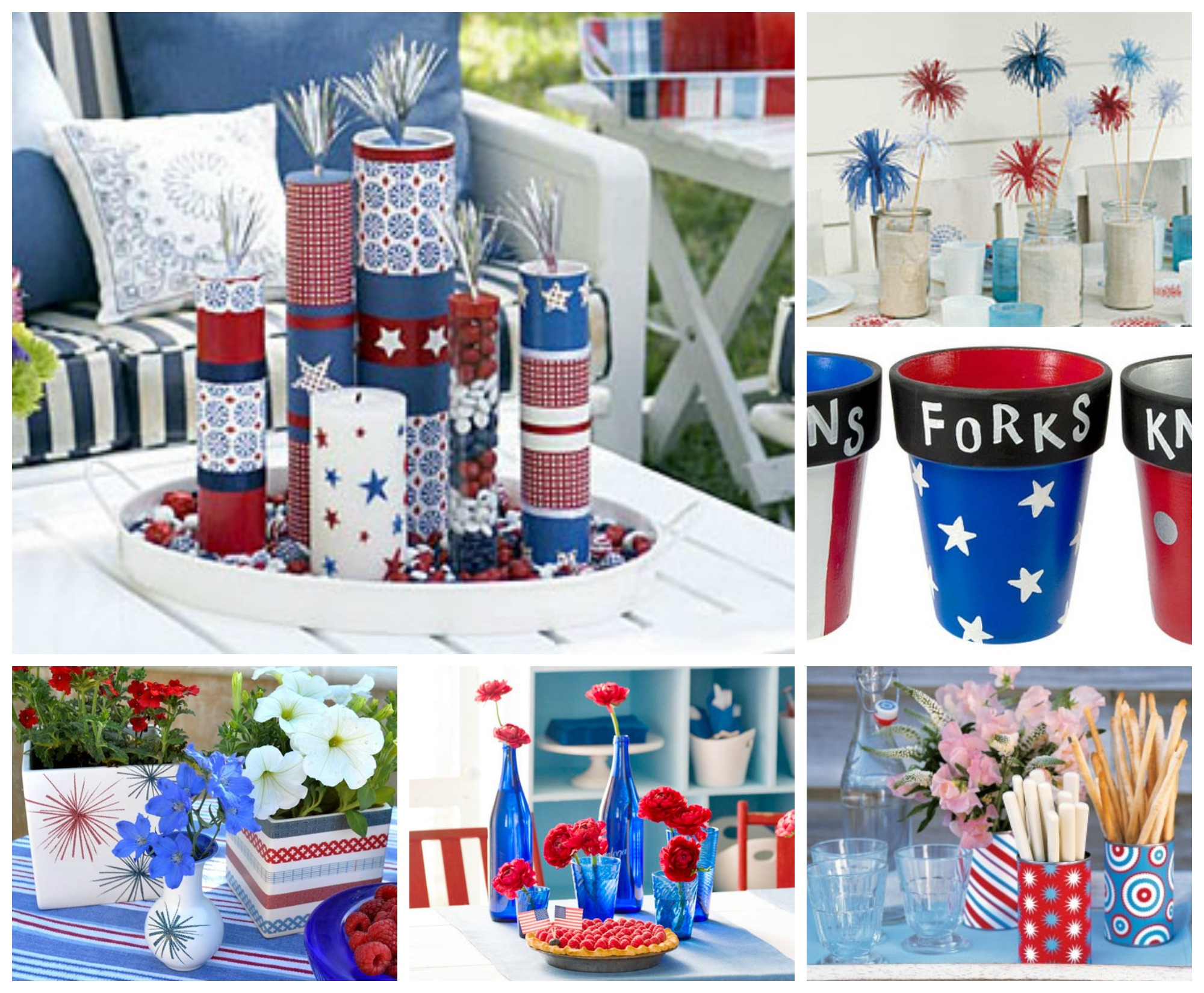 Fourth Of July Table Decoration Ideas My Web Value