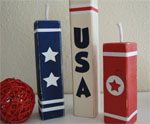 DIY Wooden Block Firecracker Decoration