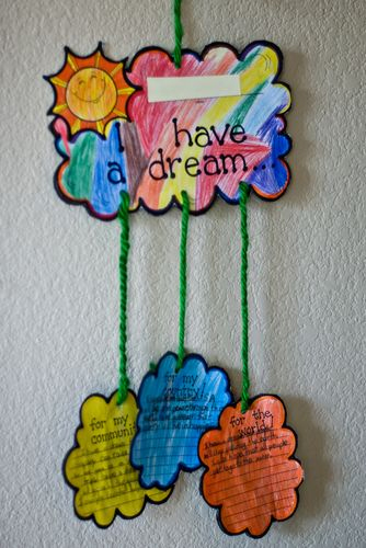 I Have a Dream Mobile Craft for Martin Luther King, Jr. Day