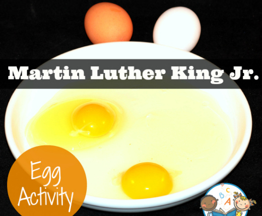 Martin Luther King, Jr. Day Egg Object Lesson