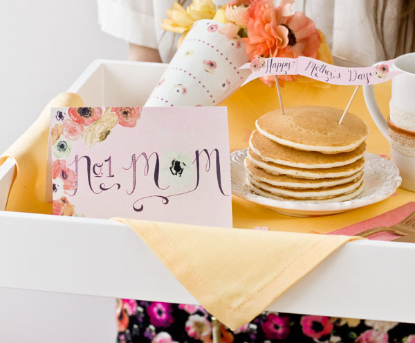 Free Printables for Mother's Day Breakfast
