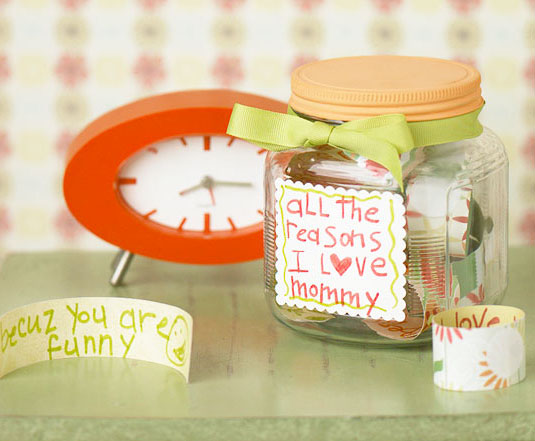 Love Notes Jar for Mother's Day