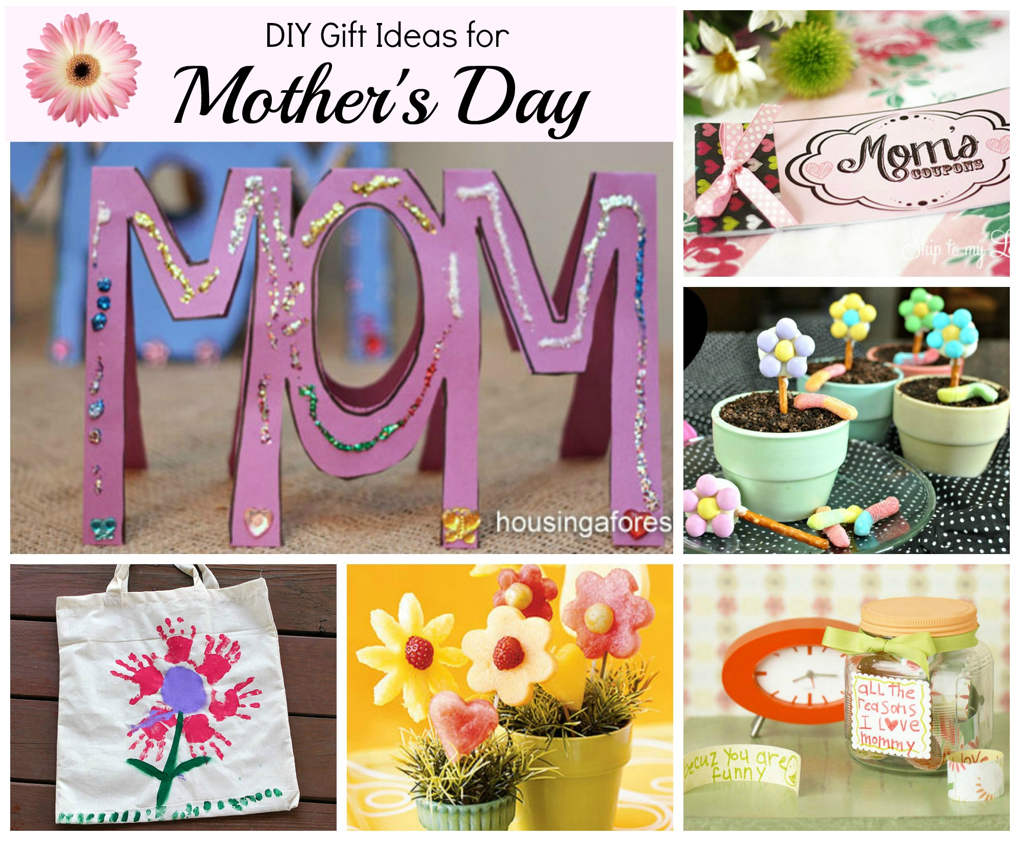 Mother S Day Gift Ideas Celebrating Holidays: mothers day presents diy