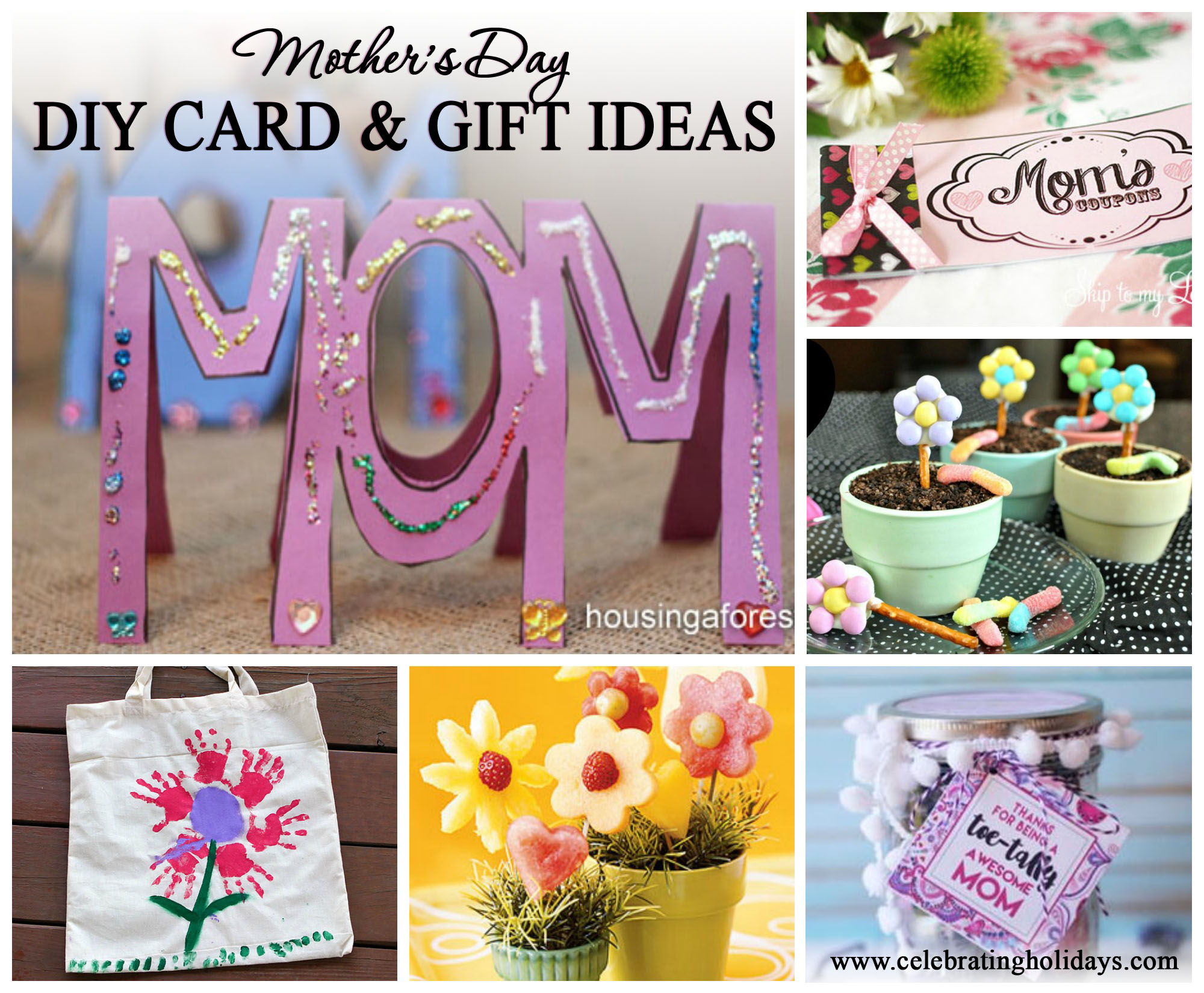 mother's day card and gift ideas | celebrating holidays