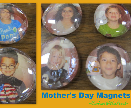 Photo Magnets for Mother's Day