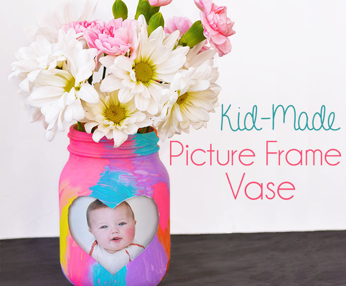 Vase with Picture for Mother's Day