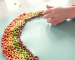 Fruit Cereal Rainbow