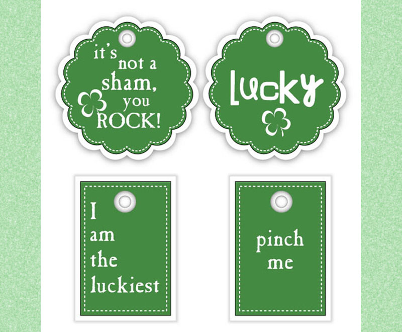 St. Patrick's Day Gift Tags 1