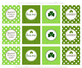 St. Patrick's Day Gift Tags 3