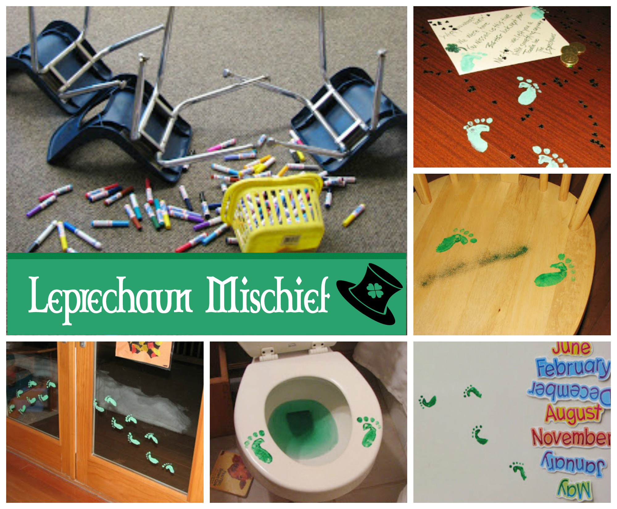 Leprechaun Mischief Ideas for St. Patrick's Day