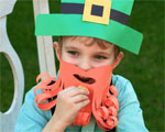 Leprechaun Hat & Beard Costume