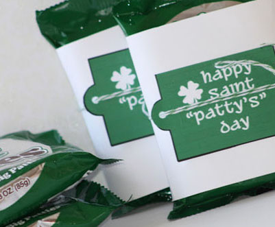 Mint Patties for St. Patricks Day