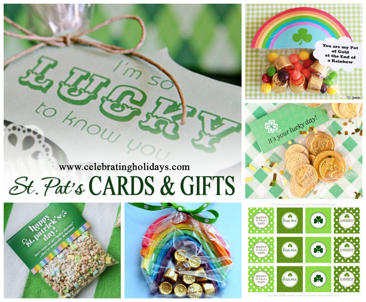 St Patricks Day Card And Gift Ideas Celebrating Holidays