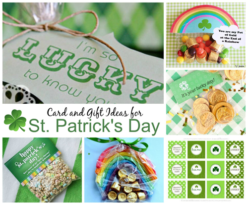 St. Patrick's Day DIY Card and Gifts
