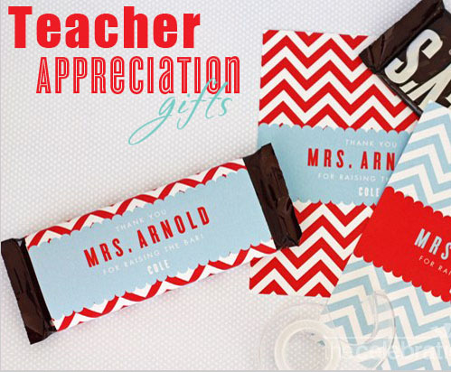 Candy Bar Wrapper for Teacher Appreciation