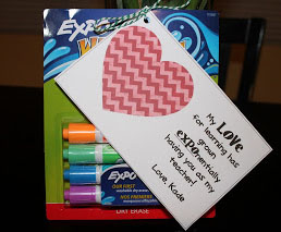 Expo Markers for Teacher Appreciation