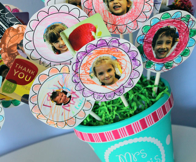 Gift Card Bouquet for Teacher Appreciation