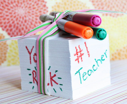 Notepad Gift for Teacher Appreciation