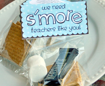 S'mores Gift for Teacher Appreciation