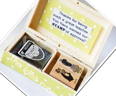 Stamp Set Gift for Teacher Appreciation