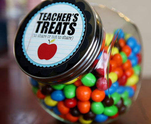 Teacher Treats for Teacher Appreciation