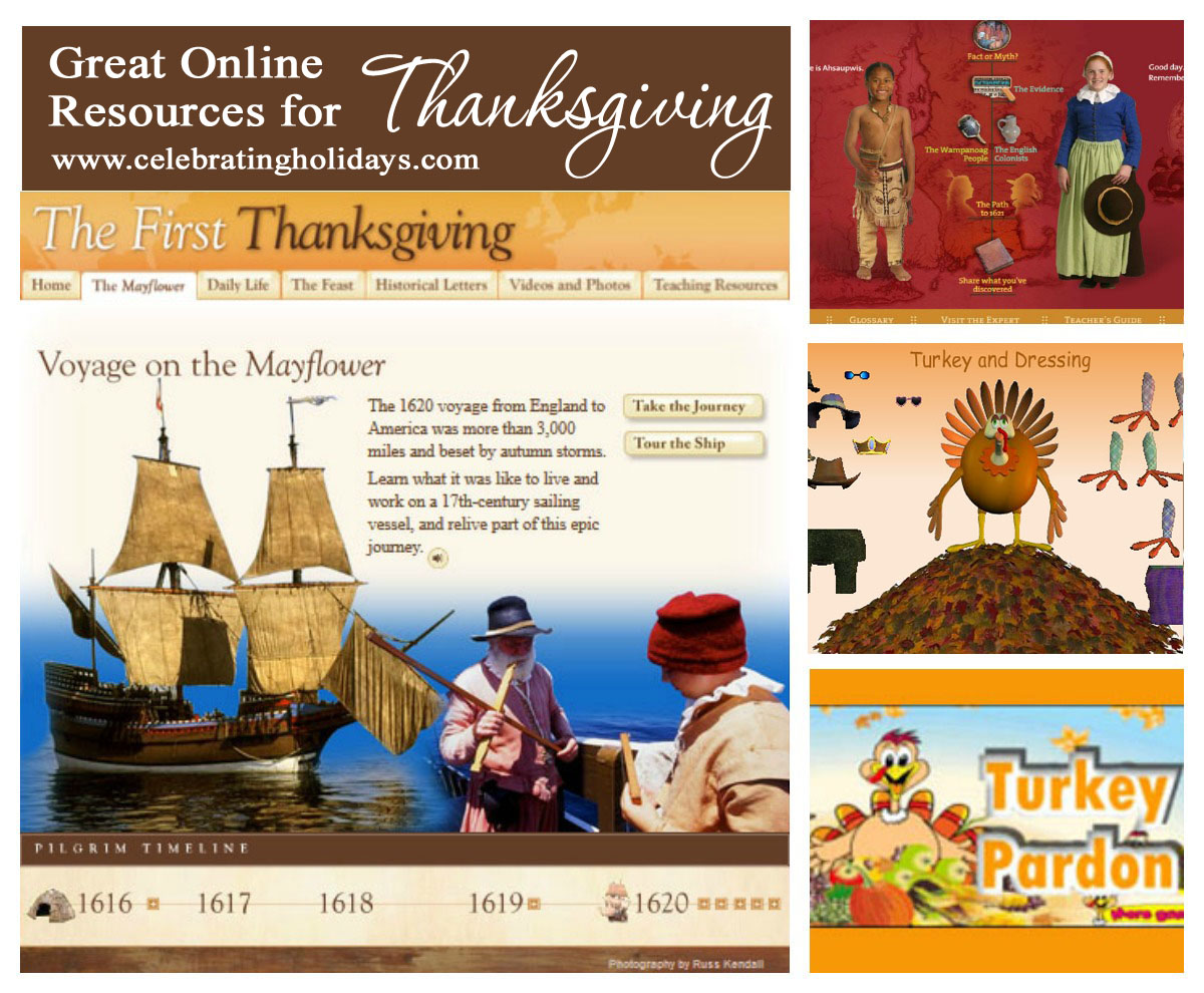 Online Resources for Thanksgiving