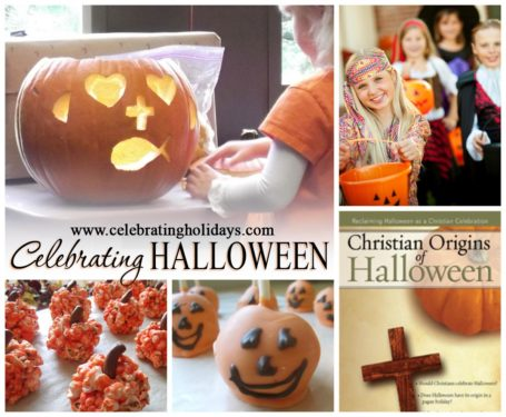 a discussion about christians celebrating halloween