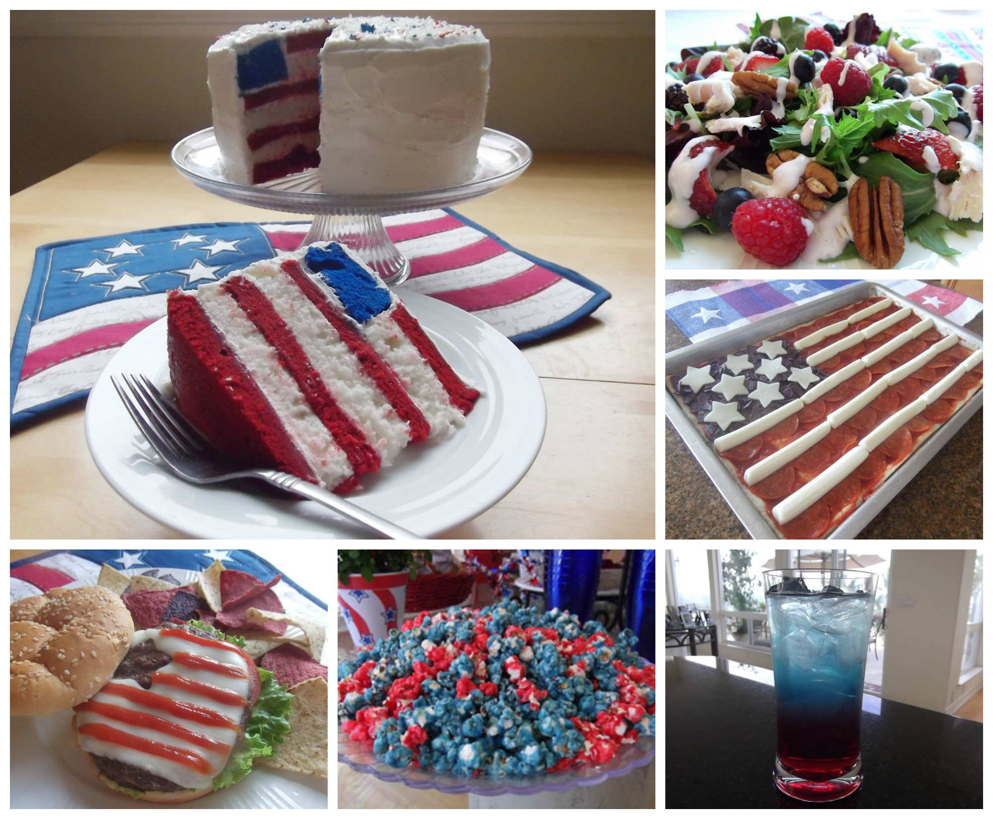 Recipes for July 4th