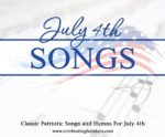 Songs for July 4th