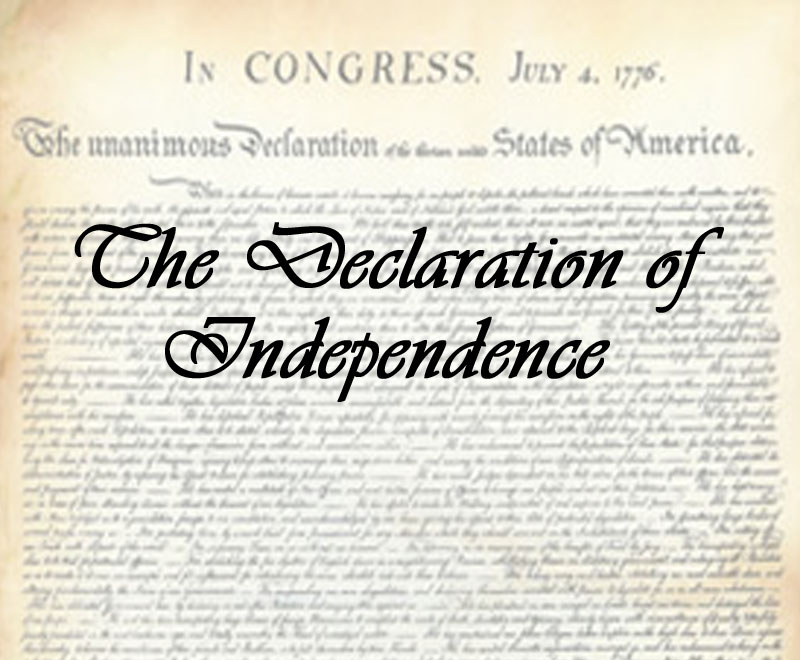 Dec. of Independence