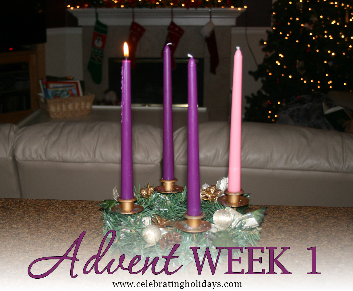advent week 1 scripture reading music and candle. Black Bedroom Furniture Sets. Home Design Ideas