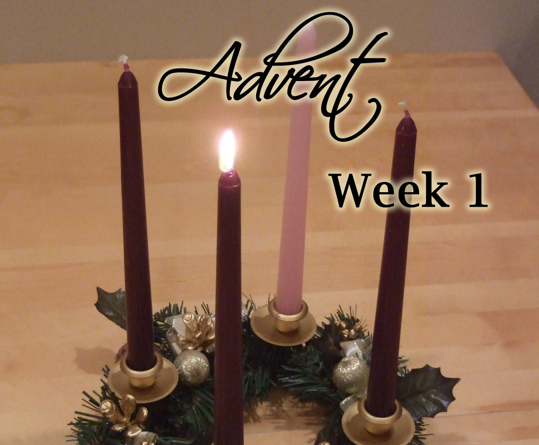 Advent Week 1 Scripture Reading, Music, and Candle Lighting