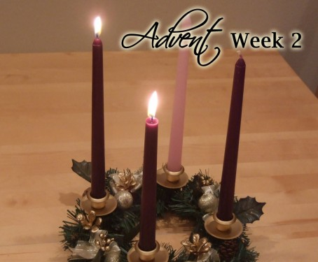 advent week 2 scripture reading music and candle. Black Bedroom Furniture Sets. Home Design Ideas